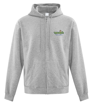 Picture of Nourish Full Zip Hooded Sweatshirt (Colour Logo)