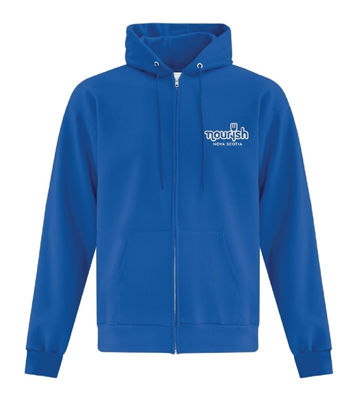 Picture of Nourish Full Zip Hooded Sweatshirt