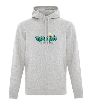 Picture of Nourish Hooded Sweatshirt (Colour Logo)