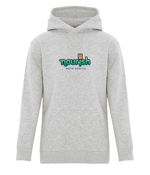 Picture of Nourish Youth Hooded Sweatshirt (Colour Logo)